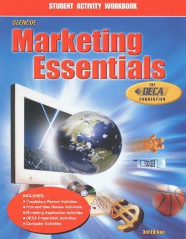Marketing Essentials, Student Activity Workbook: Grady Kimbrell; Lois