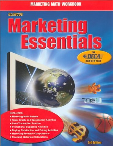 9780078249549: Marketing Essentials: Marketing Math Workbook