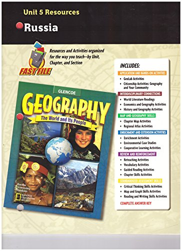 9780078249778: Geography: The World and Its People, Unit 5 Resources