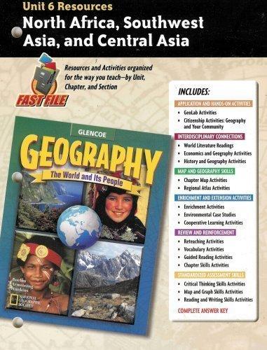 mcgraw hill - glencoe world geography teacher - AbeBooks