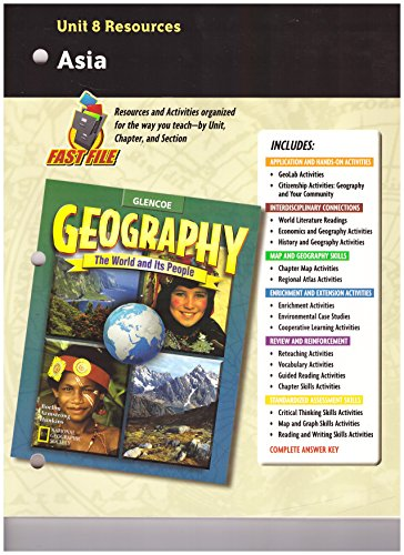 9780078249846: Geography: The World and Its People, Unit 8 Resources