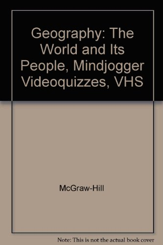 9780078250101: Geography: The World and Its People, Mindjogger Videoquizzes, VHS