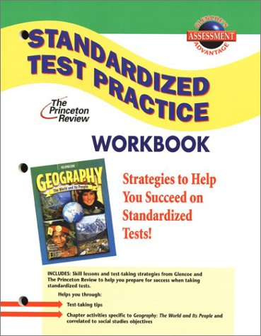 9780078250156: Geography: The World and Its People, Standardized Test Practice Workbook, Student Edition