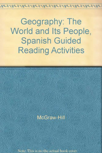 9780078250286: Geography: The World and Its People, Spanish Guided Reading Activities