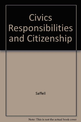 9780078250828: Civics Responsibilities and Citizenship