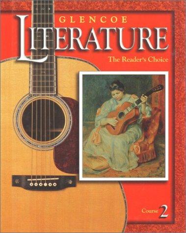 9780078251061: Glencoe Literature © 2002 Course 2, Grade 7 : The Reader's Choice