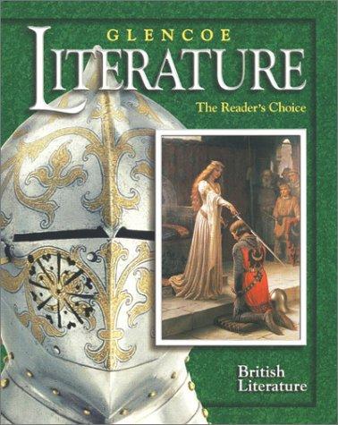 9780078251115: Glencoe Literature © 2002 Course 7, Grade 12 British Literature : The Reader's Choice