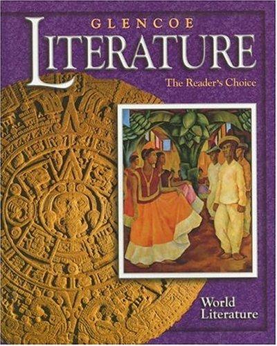 9780078251122: Glencoe Literature © 2002 World Literature : The Reader's Choice