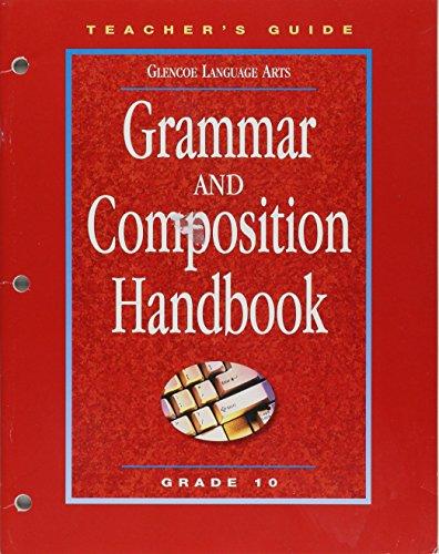 9780078251337: Grammar and Composition Handbook Teachers Guide