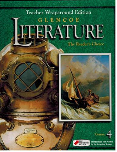 9780078251399: Teacher Wraparound Edition Glencoe Literature Reader S Choice