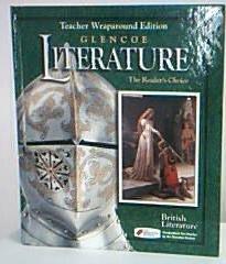 9780078251429: Glencoe Literature, British Literature (Teacher Wraparound Edition)