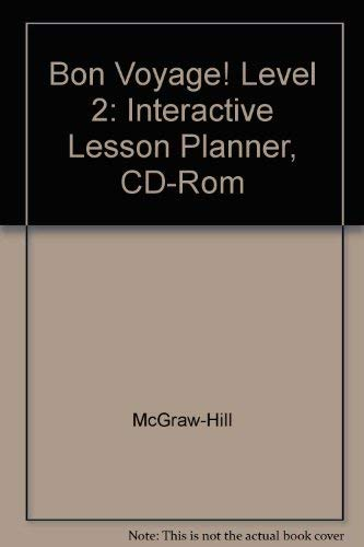 Bon Voyage! Level 2: Interactive Lesson Planner, CD-Rom [Import] [Hardcover.: McGraw-Hill