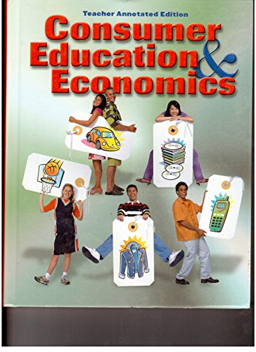 Consumer Education and Economics: Ross E. Lowe