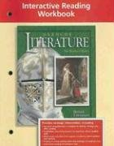 9780078251801: Glencoe Literature Interactive Reading Workbook, British Literature,Grade 12