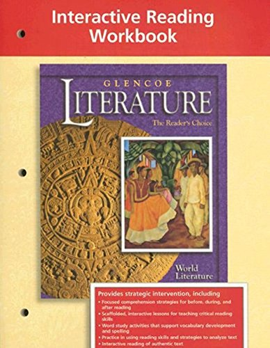 9780078251818: Glencoe World Literature Interactive Reading Workbook