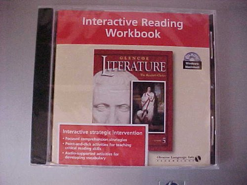 9780078251863: Interactive Reading Workbook CD ROM Literature (The Readers Choice Course 5)