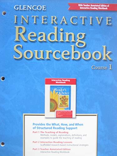9780078251900: Glencoe Literature Course 1 Grade 6 Interactive Reading Sourcebook Tae