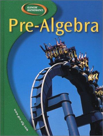 9780078252006: Pre-Algebra, Student Edition (Glencoe Mathematics)