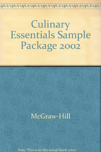9780078253003: Culinary Essentials Sample Package 2002