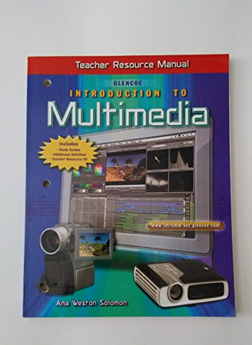 9780078253027: Glencoe Introduction to Multimedia Teacher Resource Manual (Inludes CD-ROM)