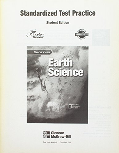9780078254086: Glencoe Science: Earth Science, Standardized Test Practice