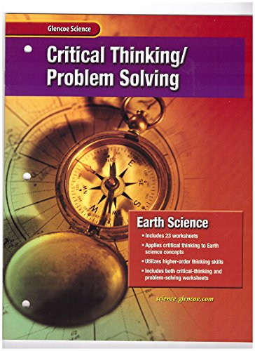 9780078254116: Earth Science: Critical Thinking / Problem Solving
