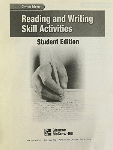 9780078254475: Reading and Writing Skill Activities (Glencoe Science)