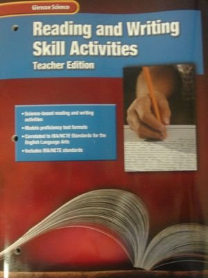 9780078254482: Reading and Writing Skill Activities, Teacher Edition (Glencoe Science)