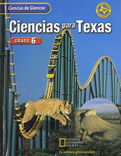 9780078254604: Ciencias para Texas, Grado 6 (Spanish Edition)