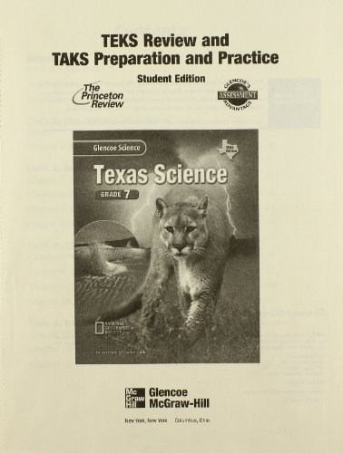 9780078254994: Glencoe Science Texas Grade 7