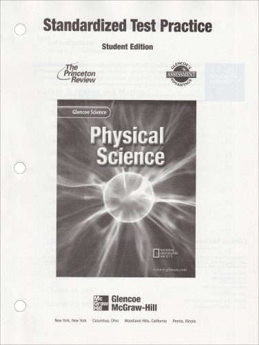9780078257223: Physical Science (Standardized Test Practice-Student Edition)