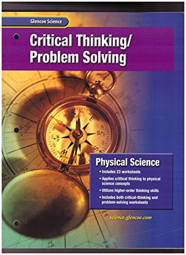 9780078257285: Physical Science: Critical Thinking - Problem Solving
