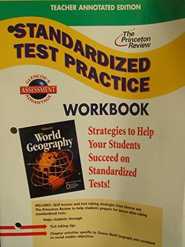 9780078258053: Standardized Test Practice Workbook: World Geography