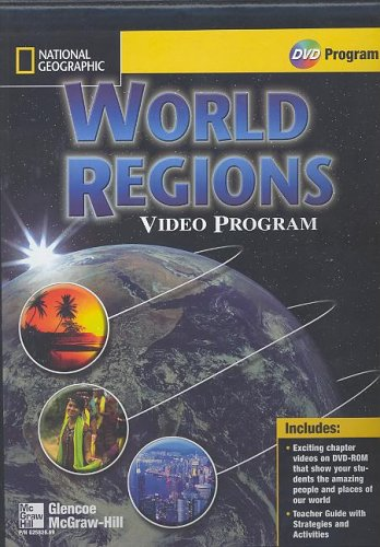 9780078258268: Glencoe World Geography, National Geographic Society World Regions DVD
