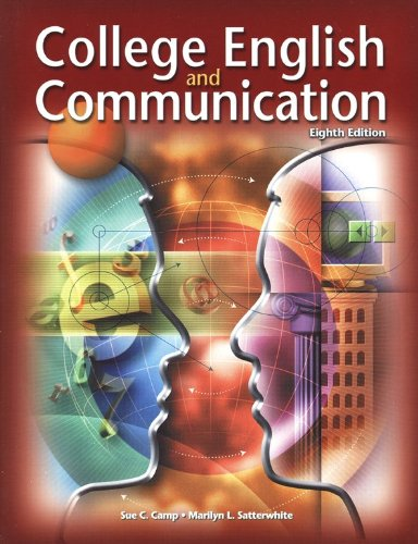 9780078258602: College English and Communication, Student Edition