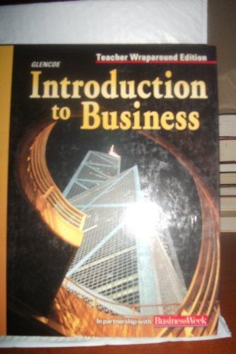 9780078258688: Teacher's Wraparound Edition: Twe Intro to Business