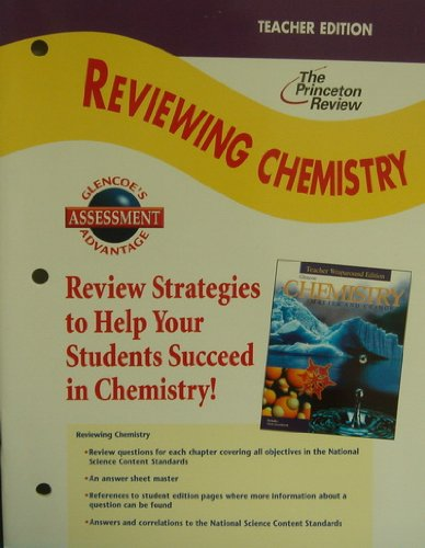 9780078259739: Chemistry: Matter and Change, Reviewing Chemistry Teacher's Edition