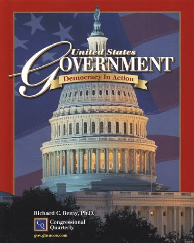 9780078259838: United States Government: Democracy in Action, Student Edition