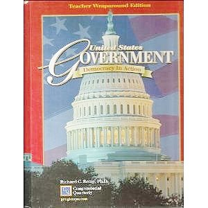 9780078259845: United States Government: Democracy in Action (Teacher Wraparound Edition)