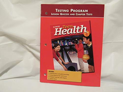9780078261336: Teen Health Course 1 Lesson Quizzes and Chapter Tests