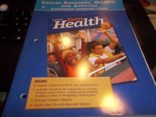 9780078261701: Teen Health Course 2, Assessment, Summaries, Quizzes, and Activities