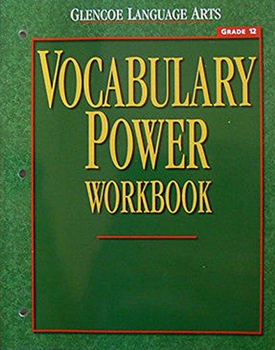 9780078262364: Glencoe Language Arts Vocabulary Power Workbook Grade 12