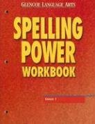 9780078262401: Glencoe Language Arts Spelling Power Workbook Grade 7