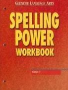 9780078262401: Glencoe Language Arts Spelling Power Workbook Grade 7