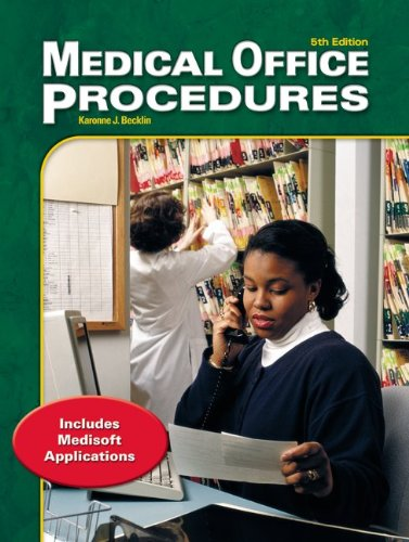 9780078262616: Medical Office Procedures: With Computer Simulation Text-Workbook with CD-ROM