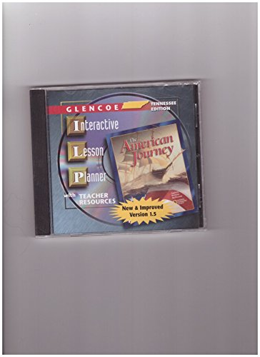 9780078262913: American Journey Tennessee Interactive Lesson Planner 2002