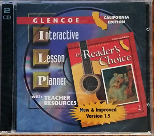 9780078262982: Glencoe Interactive Teacher Edition Course 2 (Glencoe Literature The Readers Choice course 2) [CD-ROM]