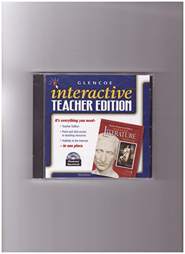 9780078263019: Interactive Teachers Edition Literature Course 5 (The Readers Choice) CD-ROM