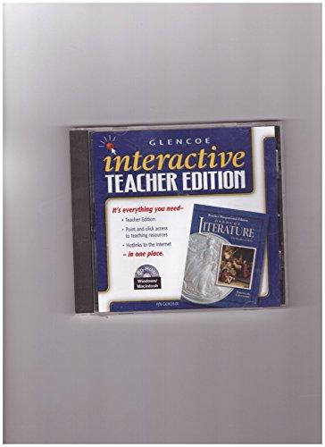 9780078263026: Glencoe Literature Interactive Teacher's Edition American Literature Grade 11, CD-Rom