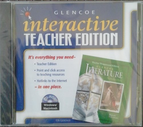 9780078263033: Glencoe Interactive Teacher's Edition, British Literature, Grade 12, CD-Rom